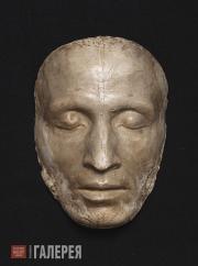 Гальберг Самуил. Посмертная маска А.С. Пушкина. 1837