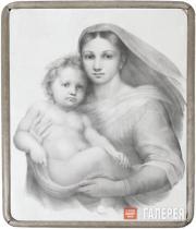 Unknown artist. Madonna with Child