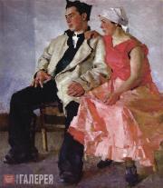 Яблонская Татьяна Ниловна. Молодые. 1939–1940