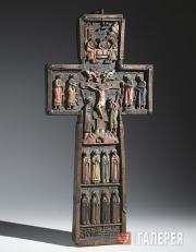 Неизвестный художник. Крест поклонный. 1665