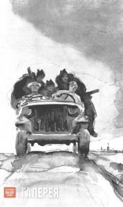 Tsigal Viktor. On the Frontline Roadway