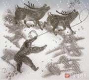 Н.Л. Воронков. Из серии «Голубая Чукотка». 1980–1990