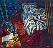 Май ДАНЦИГ. Неубранная постель. 1986