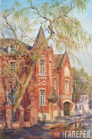 Андрияка Сергей. Майская зелень (Школа акварели в Москве). 1999