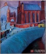 Костел Святой Анны в Вильне. 1913