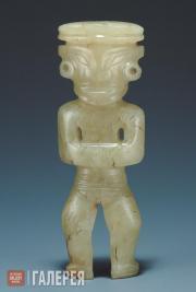 Статуэтка божества из нефрита