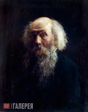 Ghe Nikolai. Self-portrait. 1892