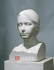 А.А. Бичуков. Женский портрет. 1990