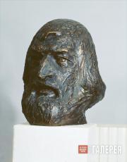А.А. Бичуков. Портрет художника В. Жданова. 1968
