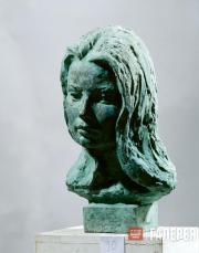 А.А. Бичуков. Портрет Ольги. 1972