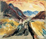 Drevin Alexander. River Charysh Valley. 1930