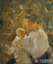 Шемякин Михаил. Мать и дитя. 1905