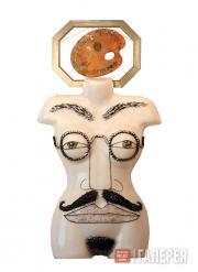 Alla Bedina. Display Model «Gentleman in the Spectacles». 2003