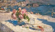 Константин КОРОВИН. На берегу моря. 1910