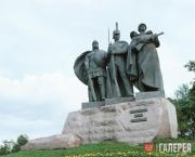 Bichukov Anatoly. Monument to the Defenders of the Russian Land. 1995
