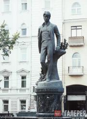 А.А. Бичуков. Памятник Сергею Есенину. 1995
