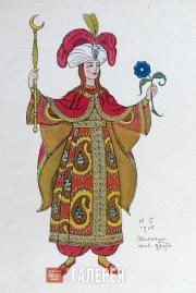 Ivan BILIBIN. The Queen of Shemakha