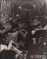 Брандт Билл. Убежище на станции метро «Ливерпуль-стрит». 1940