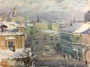 С.С. Боим. Улица Кропоткина. Москва. 1965