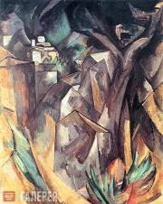 Ж.БРАК. Пейзаж. 1908