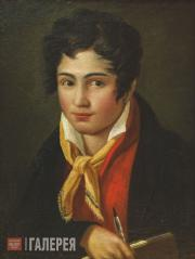 Bruni Fyodor. Self-portrait. 1813-1816