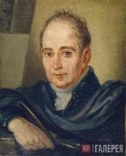 Ivan Bugaevsky-Blagodarny. Portrait of the Artist Vladimir Borovikovsky. 1824