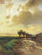 Savrasov Alexei. Country Road. 1873