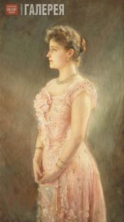 Штемберг Виктор. Портрет Александры Федоровны. 1901