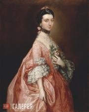 Gainsborough Thomas. Mary Little, Later Lady Carr. c. 1765