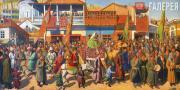 Grigor SHARBABCHIAN. Keinoba. Celebration of Quinquagesima in the Old Tiflis