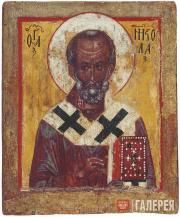 Неизвестный художник. Святитель Николай Чудотворец. Конец XIV – начало XV века