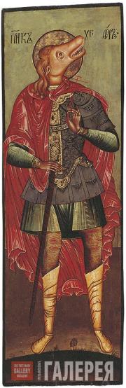 Неизвестный художник. Мученик Христофор. Вторая половина XVII века