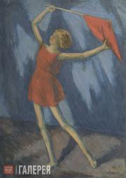 Chernyshev Nikolai. Songs of the Revolution. (Isadora Duncan's Studio). 1932