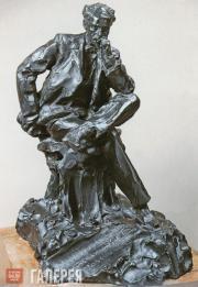 Трубецкой Паоло (Павел Петрович). Портрет И.И. Левитана. 1899