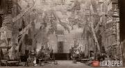 Декорации 1 картины балета А. Арендса «Саламбо». 1910