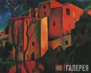 Andre DERAIN. Old Castle in Cagnes. 1910