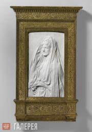 Сент-Годенс Огастес. Миссис Стэнфорд Уайт (Бесси Спрингс Смит). 1884