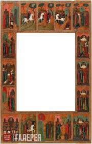 The Story of the Miracles of The Fyodorovskaya Mother of God Icon. Frame-icon. 1