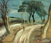 Drevin Alexander. Road after a Thunderstorm. 1933