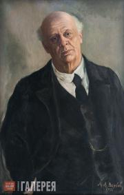 Вербов Михаил. Портрет Владимира Николаевича Давыдова. 1922