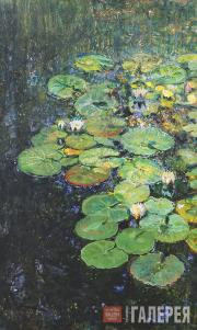 Repin Yury. Water-lilies in the Рond at Penaty. 1931
