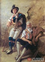 Catel Franz. Two Pifferari (Pipers)