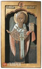 Неизвестный художник. Священномученик Ермолай. Начало XVII в.