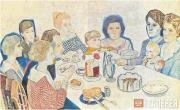 Filonov Pavel. Family portrait. 1924