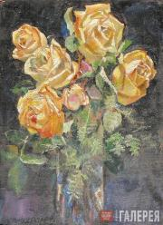Filonov Pavel. Yellow Roses. 1912