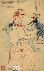 Léon Bakst. Maria Gritsenko. 1908