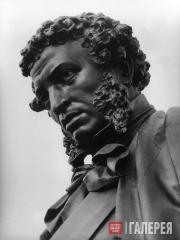 Opekushin Alexander. Monument to Alexander Sergeevich Pushkin in Moscow.