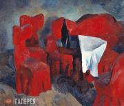 Falk Robert. Red Furniture. 1920
