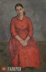 Falk Robert. Portrait of Poet Ksenia Nekrasova. 1950