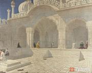 Верещагин Василий. Жемчужная мечеть в Дели. Конец 1880-х